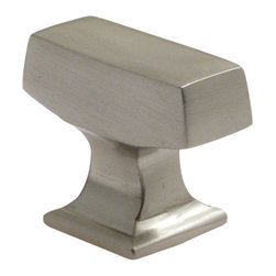 "Rusticware - 999 1 3/8"" Knob - Satin Nickel - This Satin Nickel cabinet knob is a versatile and stylish piece of hardware that will add to the decor of any room in your home. All Rusticware knobs and pulls come with standard 8/32"" screws and screws that are 1/2"" longer to fit most applications."