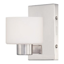 Quoizel Tatum TU860 Bath Fixture - Brushed Nickel - Whether you're looking for a little lighting or a lot, the Quoizel Tatum TU860 Bath Fixture - Brushed Nickel has you covered. It's available in a variety of size options, ranging from one-light to four, and the sturdy steel frame is finished in a versatile brushed nickel. Plus, the cylindrical, etched opal glass shades in white for a cool contemporary flair. The bath fixture comes complete with one, two, three, or four 100-watt frosted halogen bulbs, so you don't even have to worry about tracking some down. Six inches of supply wire are included, too.About Quoizel LightingLocated in Charleston, South Carolina, Quoizel Lighting has been designing timeless lighting fixtures and home accessories since 1930. They offer a distinctive line of over 1,000 styles, including chandeliers, lamps, and hanging pendants. Quoizel Lighting is the perfect way to add an inviting atmosphere to any area in your home, both indoors and out.
