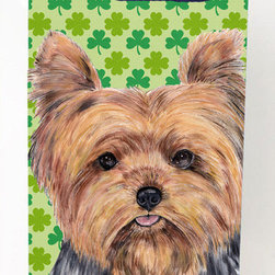 Caroline's Treasures - Yorkie St. Patrick's Day Shamrock Portrait Michelob Ultra Koozies for slim cans - Yorkie St. Patrick's Day Shamrock Portrait Michelob Ultra Koozies for slim cans SC9308MUK Fits 12 oz. slim cans for Michelob Ultra, Starbucks Refreshers, Heineken Light, Bud Lite Lime 12 oz., Dry Soda, Coors, Resin, Vitaminwater Energy, and Perrier Cans. Great collapsible koozie. Great to keep track of your beverage and add a bit of flair to a gathering. These are in full color artwork and washable in the washing machine. Design will not come off.