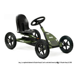 BERG - BERG Jeep Junior Pedal Kart - If you are like me, you always notice a Jeep when you are on the road.  It's just different.