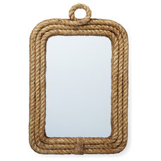 Beach Style Mirrors by Kathy Kuo Home
