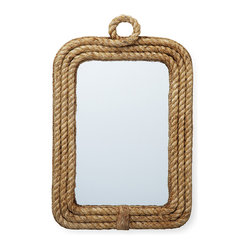 Clippers Bay Rope Wall Mirror
