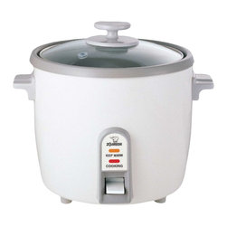 Zojirushi - Zojirushi NHS-18 Rice Cooker and Steamer, 10 cup - -Includes stainless steel vegetable steamer basket, rice scoop and measuring cup
