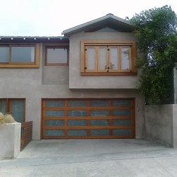 Genuine Mahogany & Custom Glass Door in San Diego - www.automaticdoorspecialists.com