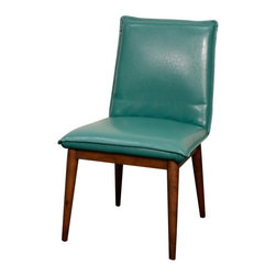 NPD (New Pacific Direct) Furniture - Lara Dining Chair (Set of 2) by NPD Furniture, Turquoise - Lara dining chairs (Set of 2) offer high quality, furniture that are constructed from solid birch wood and finished with bonded leather. Durable materials and quality assembly will help your furniture to serve for many years and will not let you be disappointed in your choice.