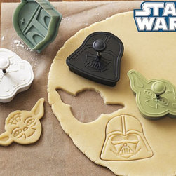 Star Wars™ Heroes & Villains Cookie Cutters - I've been ogling these for a while now, just waiting for a chance to introduce my kids to the magical world of Star Wars. Plus, sugar cookies are always necessary, right?