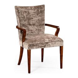 Jonathan Charles - Jonathan Charles Dining Chair Truffle - Product Details