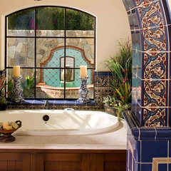 mediterranean bathroom by Maraya Interior Design