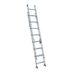 Werner - Werner D1316-2 16 ft. Aluminum Extension Ladder Multicolor - 3720-5234 - Shop for Ladders from Hayneedle.com! Higher job duties are never out of reach with the Werner D1316-2 16 ft. Aluminum Extension Ladder. Made from heavy duty aluminum this handy extension ladder features a 250-pound rating and a smooth pulley system for easy extension. Other features include mar-resistant end caps interlocking 3-inch side rails and slip-resistant 1-inch Traction-Tred D-rungs.About WernerWerner is an industry leader that has manufactured and distributed ladders and climbing equipment for over 60 years. Werner ladders are found on more trucks and job sites than all other brands combined. Each product offers a state-of-the-art design and manufacturing process creating professional-grade products that are made to be utilized in the home as well as on the job site. Werner Co. products are built to meet or exceed all applicable American National Standards Institute (ANSI) and Occupational Safety and Health Administration (OSHA) code requirements.