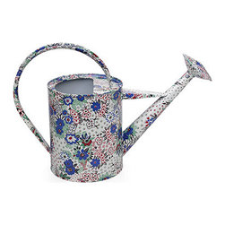 Celia Birtwell Watering Can - I think this is just about the cutest watering can I've ever seen. The floral pattern makes it beautiful and perfect to leave out on a side table on your patio. Because it's mad of steel and meant for the outdoors, it should weather the elements. From a usability standpoint, I like that the spout is removable to change the water flow. A win all around.