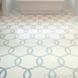 Mosaic Product Offerings - Seine mosaic shown in marble by New Ravenna.