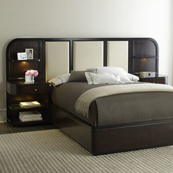 Savion Bed with Nightstand Piers