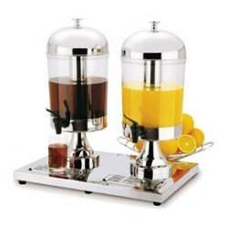 Regalware Beverage Dispenser Double Server