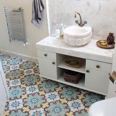 Mediterranean Tile by Karoistanbul Encaustic Cement Tile