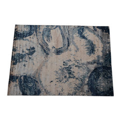 1800GetARug.com - Area Rug, Modern Bamboo Silk 10'x14' Hand Knotted Abstract Design Rug SH14134 - Area Rug, Modern Bamboo Silk 10'x14' Hand Knotted Abstract Design Rug SH14134