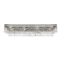 Crystorama Lighting - Crystorama Lighting 5267-OS-CL-MWP Mercer Transitional Bathroom Light - Crystorama Lighting 5267-OS-CL-MWP Mercer Transitional Bathroom Light In Olde Silver With Hand Cut Crystal