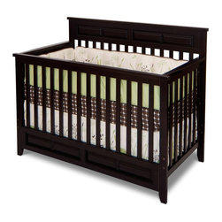 Foundations Worldwide - Child Craft Logan Lifetime 3 in 1 Convertible Crib - Jamocha Multicolor - F34701 - Shop for Cribs from Hayneedle.com! Nurseries should be comfy and safe and the Child Craft Logan Lifetime 3 in 1 Convertible Crib - Jamocha is both designed to transition into the toddler years with ease. It's crafted from durable hardwoods and finished in a classic espresso so that it can change with your style and baby's needs. Simply use the included hardware and tools to turn this crib into a stable safe toddler bed when your little one is ready. Additional information: Optional toddler guard sold separately Converts easily without sacrificing integrity of unit or pieces; simply remove front side assembly Non-toxic baby-safe finish on all pieces All assembly screws fit into metal bushings so you may safely convert this bed as many times as necessary Crib mattress sold separately Full-size bed rails are available separately to convert to full-size bed Assembly required; includes instructions and all necessary hardware Manufacturer's limited lifetime warranty About Child CraftFounded in 1911 in Salem Indiana Child Craft Industries is a family-owned American company synonymous with quality and value. Manufacturer of cribs and children's furniture the company is very strongly committed to product standards and safety and combines beautiful design and innovative features with sturdy construction and superior craftsmanship. The principles of quality and integrity that served to guide the company for nearly 100 years remains unchanged even today and Child Craft continues to be a respected name in children's furniture.