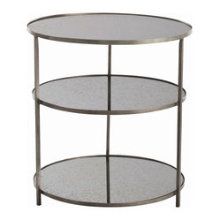 Percy Side Table, Zinc