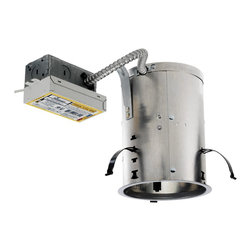 """Juno Lighting - ICPL626RE 6"""" IC Rated Remodel Housing - 26W Triple Vertical CFL - Housing only. Trim and bulb sold separately."""