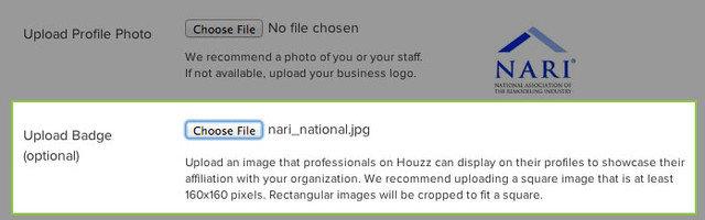 For Houzz Pros: Affiliate Badge Program