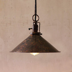 Steel Pendant Lamp - With its beautiful, yet simple design, the Steel Pendant Lamp has the style to complement any room. Bring its warmth to your mornings and nights.