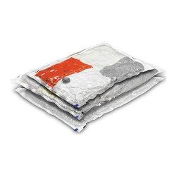 3-Pack Vacuum-Packs (2 Large, 1 Medium) - 2-pack large vacuum-packs (21.25in x 33.5in) 1-pack medium vacuum-pack (17.75in x 22.5in)