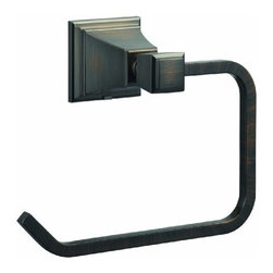 DHI-Corp - Torino Towel Ring, Brushed Bronze - The Design House 560474 Torino Towel Ring adds an elegant accent to any bathroom wall with a unique design and quality appearance. This sleek open towel ring is constructed of brass and zinc, finished in brushed bronze and measures 6.5-inches. Ez anchor mounts are included with this towel ring for quick installation on drywall and a mounting template is conveniently printed on the back of the package. Anchors are a cleaner alternative to plugs and they are well-known for their steadfast strength and intuitive design. The Torino collection features a matching toilet paper holder, robe hook and towel bar for a complete bathroom set to enjoy for years to come. The Design House 560474 Torino Towel Ring comes with a 1-year limited warranty that protects against defects in materials and workmanship. Design House offers products in multiple home decor categories including lighting, ceiling fans, hardware and plumbing products. With years of hands-on experience, Design House understands every aspect of the home decor industry, and devotes itself to providing quality products across the home decor spectrum. Providing value to their customers, Design House uses industry leading merchandising solutions and innovative programs. Design House is committed to providing high quality products for your home improvement projects.