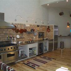Southwestern Kitchen by DSA Architects