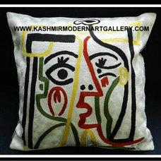 Decorative Pillows by kashmir modernart gallery