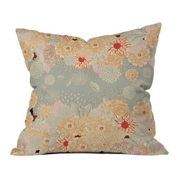 Iveta Abolina Creme De La Creme Outdoor Throw Pillow - Do you hear that noise? it's your outdoor area begging for a facelift and what better way to turn up the chic than with our outdoor throw pillow collection? Made from water and mildew proof woven polyester, our indoor/outdoor throw pillow is the perfect way to add some vibrance and character to your boring outdoor furniture while giving the rain a run for its money.