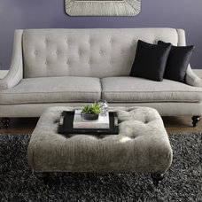 Eclectic Living Room by Dania Furniture