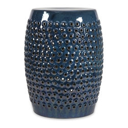 IMAX CORPORATION - Indigo Cutwork Garden Stool - Indigo Cutwork Garden Stool. Find home furnishings, decor, and accessories from Posh Urban Furnishings. Beautiful, stylish furniture and decor that will brighten your home instantly. Shop modern, traditional, vintage, and world designs.