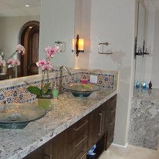 Mediterranean Bathroom by Paschall Design - Interiors + Architecture