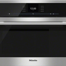 """Miele 24"""" Steam Oven Stainless Steel 