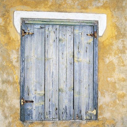 Murals Your Way - Mediterranean Window Wall Art - Photographed by John Jones, the Mediterranean Window wall mural from Murals Your Way will add a distinctive touch to any room