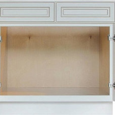 Traditional Kitchen Drawer Organizers by Lily Ann Cabinets