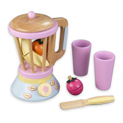 Barcelona Pastel Smoothie Set by Kidkraft - Fruit Smoothies are all the rage right now. With our new Pastel Smoothie Set kids can now pretend to make their own healthy drinks! This wooden 12 piece set wod be a great addition to any pretend kitchen.
