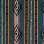 Striped Southwest, Navajo, Style Upholstery Fabric By The Yard - This southwest jacquard upholstery fabric is great for all indoor upholstery applications. This material is uniquely soft and durable. Any piece of furniture will look great upholstered in this material!