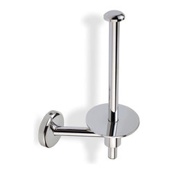 StilHaus - Chrome Spare Toilet Roll Holder - Spare toilet roll holder in chrome finish. Spare toilet roll holder made of chromed brass. From StilHaus Pegaso Collection.