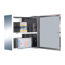 The Renovators Supply - Medicine Cabinets Bright Stainless Steel Medicine Cabinet 11 7/8 ...