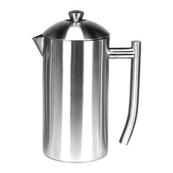 Frieling - Frieling 23-Ounce Polished Stainless French Press - Celebrate the pure flavor of coffee with our double wall insulated French Press which retain heat four times longer than a glass press. Made of 18/10 stainless steel, this press is extremely durable, built to stand the test of time.