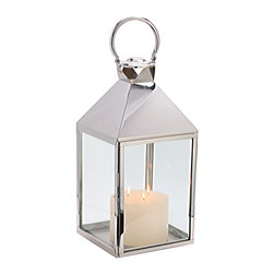 """Riado - Classic Mogador Lantern 27"""" PN - Minimalism! These traditional style lanterns are found all over the luxury homes and hotels and are great to light the entrance, the yard, or simply cluster around the pool, at sunset."""