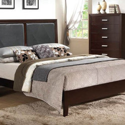 Acme Furniture - Ajay Black California King Size Bed - 21414CK - Ajay Collection California King Bed