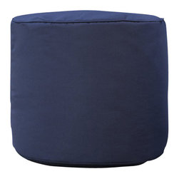 Gold Medal - Outdoor/Indoor Sunbrella Weather Resistant Ottoman - Pacific Blue - Outdoor/Indoor Weather Resistant Sunbrella? Ottoman. Can be used as an Extra Seat, Foot Rest, or Table. Ideal for Patios, Pools, Boats, Decks, Lawns, Florida or Sun Rooms, and Indoors. Sunbrella Fabric Guarantees Years of Vibrant Color and Performance.