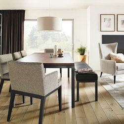 Parsons Table & Ansel Chair Dining Space -
