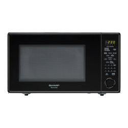 "Sharp - 1.8 Cu.Ft, 1100W with 15"" Tunrtable, Sensor, Softening Function - The Sharp Carousel R559YK 1.8 Cu. Ft. 1100W Countertop Microwave Oven, in black, is a well-designed, full-size microwave oven with a scratch-resistant glass door and a 15-inch glass, Carousel turntable. This family-friendly microwave oven combines a stunning appearance with smart, time-saving features including sensor cook, one-touch settings and softening options. Sensor cooking technology automatically determines cooking time and eliminates guesswork making microwave cooking easier than ever.1.8 cu. ft. capacity microwave oven with removable 15-inch glass turntable"
