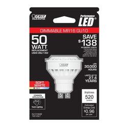 FEIT ELECTRIC CO #261200 - BPMR16/GU10/500/LED Bulb - MR16 LED Mini Reflector Bulb