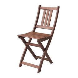 IKEA of Sweden - BOLLÖ Folding chair - Folding chair, brown