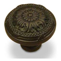 Century Hardware - Solid Brass - Knob - Oil Rubbed Bronze (CENT18016-10B) - Solid Brass - Knob - Oil Rubbed Bronze (CENT18016-10B)