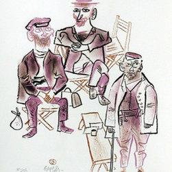 William Gropper, Lithograph - Artist:  William Gropper, American (1897 - 1977)